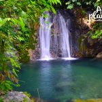 Mewahnya Air Terjun Tingkat Tujuh Kota Naga