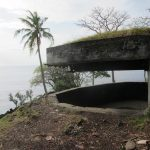 Pesona Samudera Hindia dari atas Benteng Anoe Itam Sabang