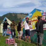 Festival kampung Nusa, The Art Colour of Sensation 2019