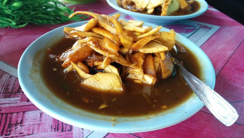 Rujak U Groh, Refreshing  Snack When Traveling Long Distance