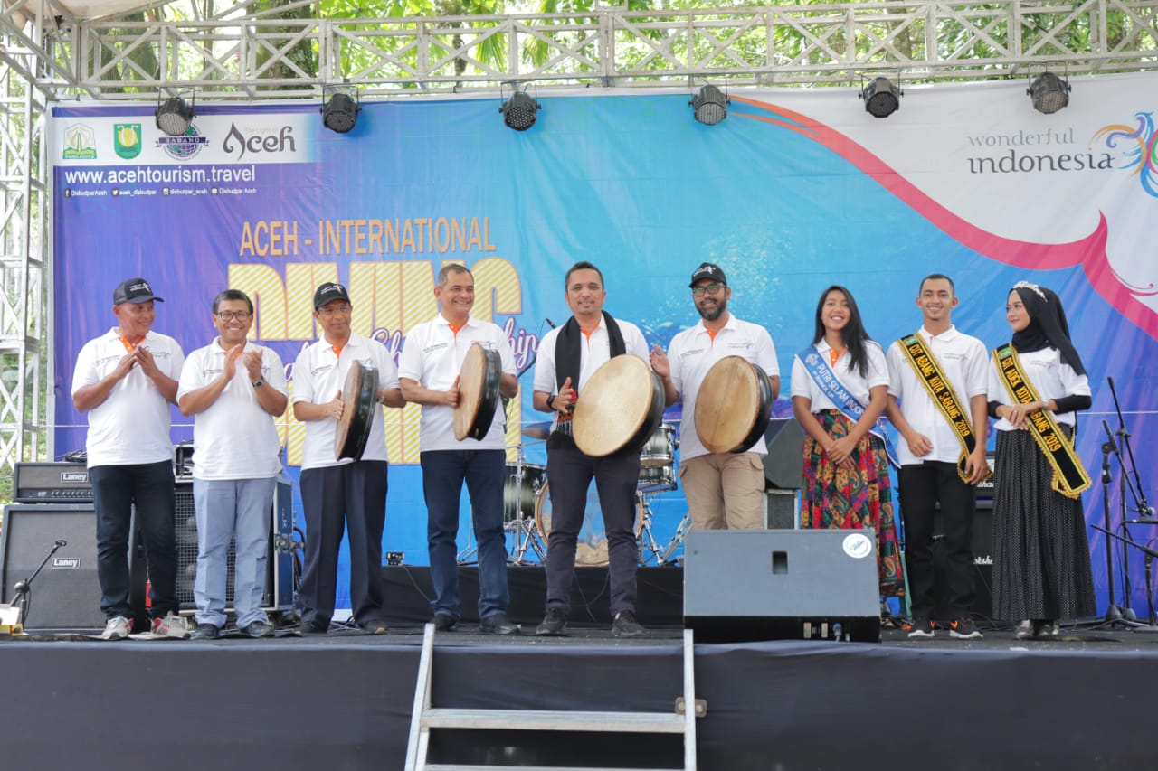 Aceh International Diving Festival and Championship Resmi Dibuka di Sabang