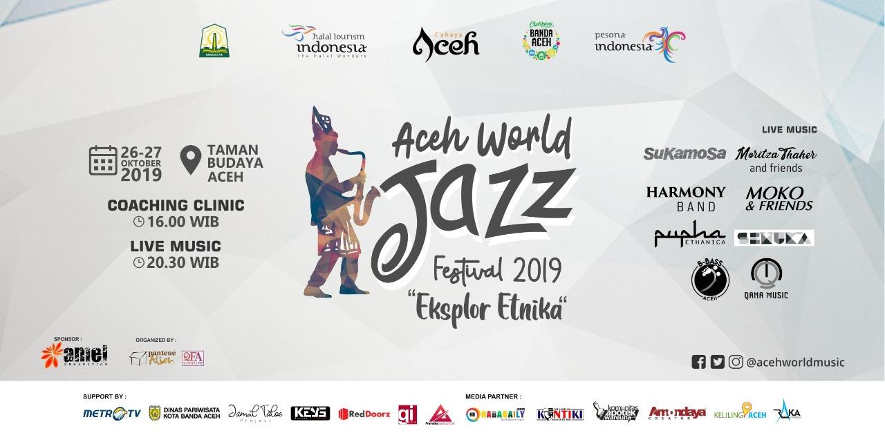 Aceh World Jazz Festival, Kenalkan Musik Aceh ke Mancanegara