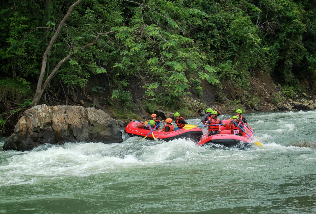 Come Enjoy Nature While Testing Adrenalin in Krueng Jalin Aceh Besar