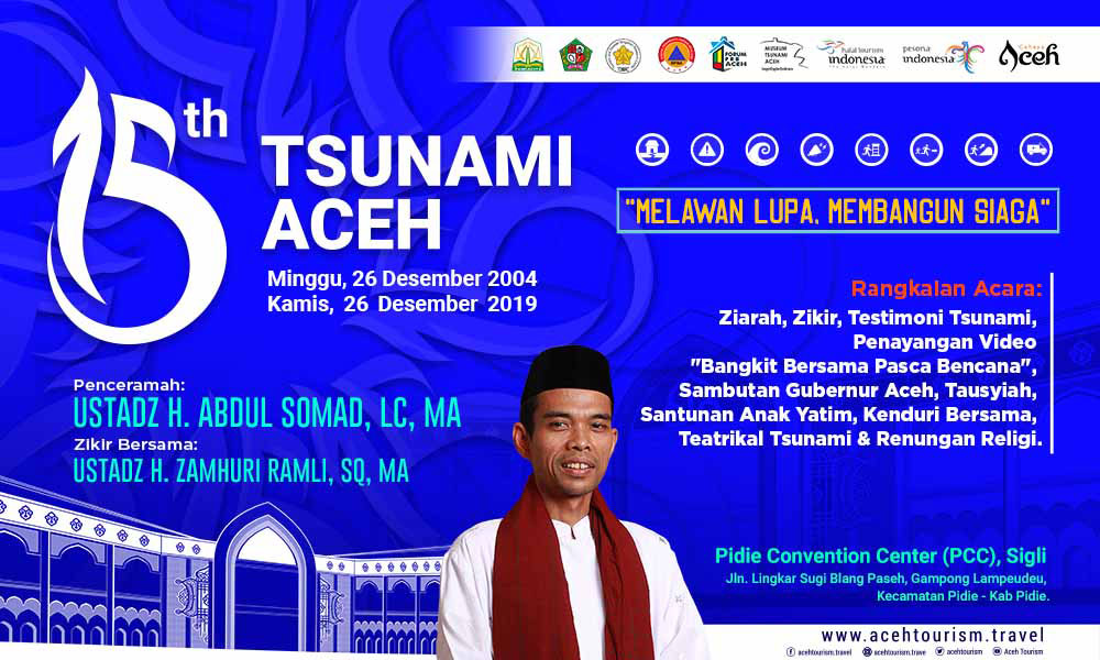 Aceh Government Commemorates 15 Years of Tsunami Aceh's