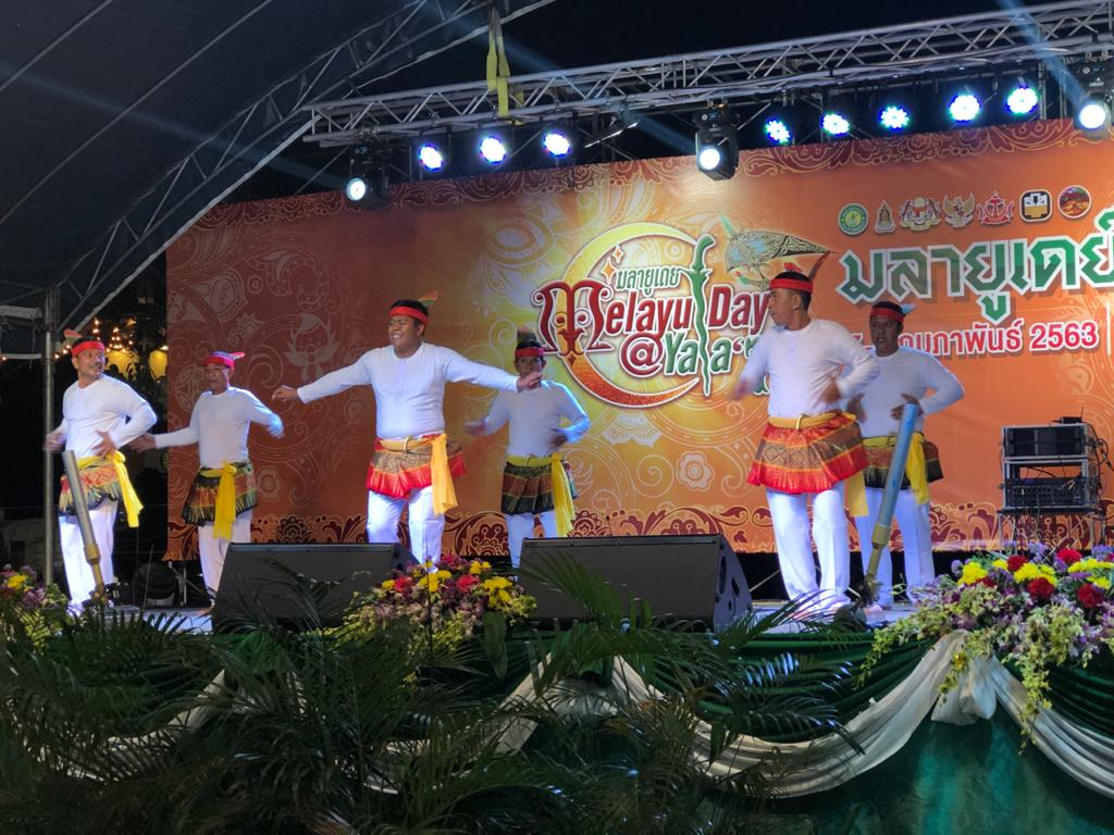 Seudati Aceh Livened Malay Day in Thailand