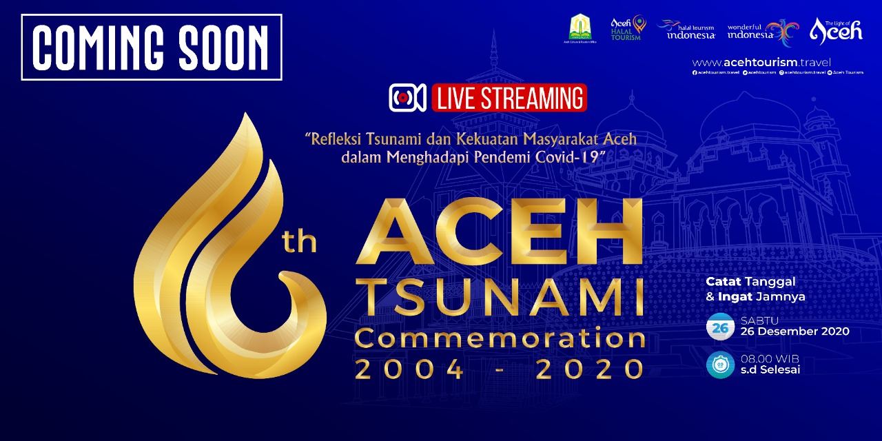 Terapkan Prokes, Pemerintah Aceh Akan Gelar Peringatan 16 Tahun Tsunami